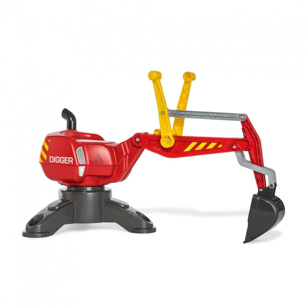 Buitenspeelgoed - GRAAFMACHINE%20ROLLY%20TOYS%20ROOD%20DIGGER