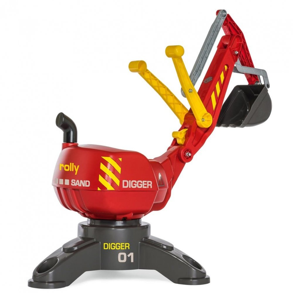 Buitenspeelgoed - GRAAFMACHINE%20ROLLY%20TOYS%20ROOD%20DIGGER1