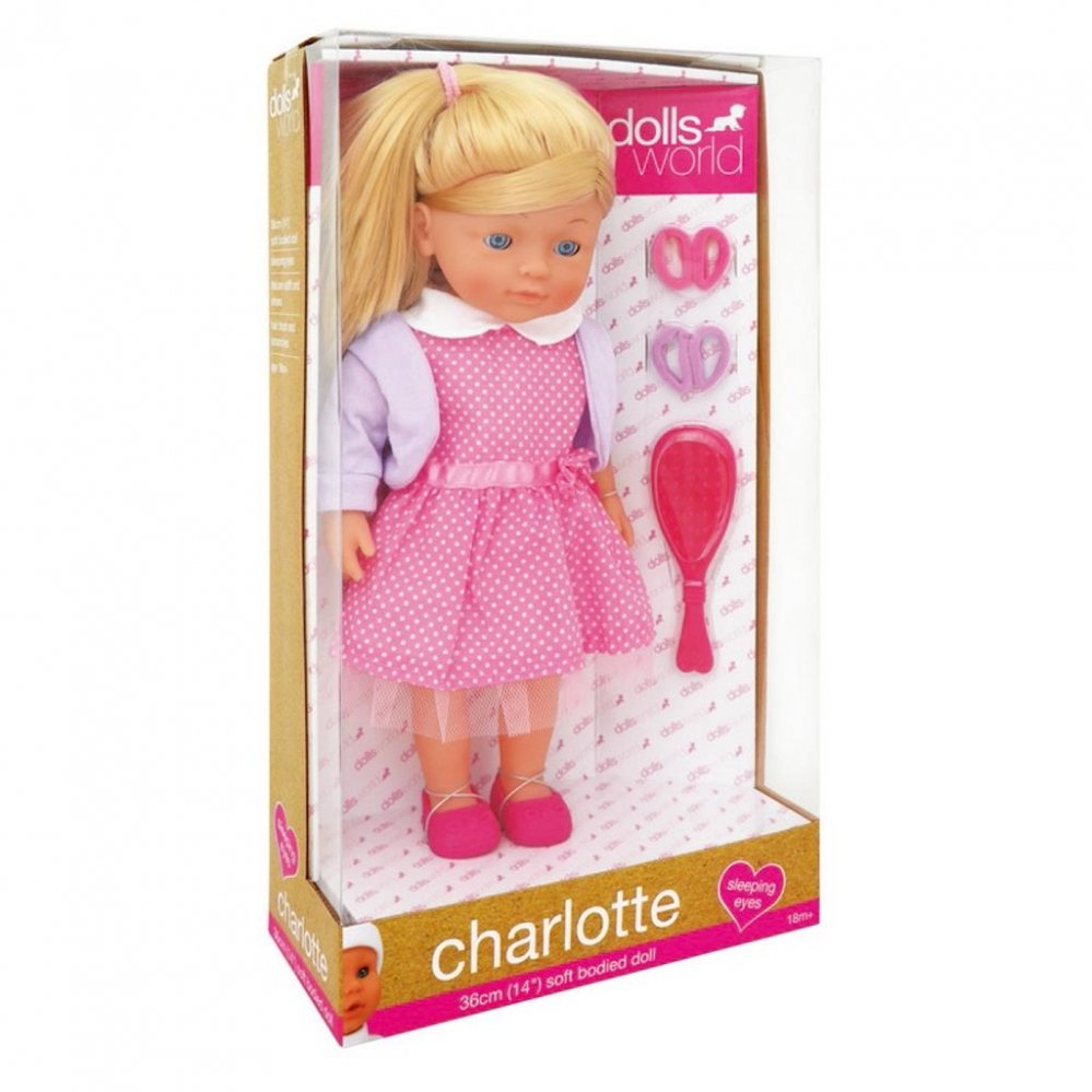 Poppen - POP-DOLLS-WORLD-CHARLOTTE-KAPSELS-MAKEN-36-CM-ASSORTI