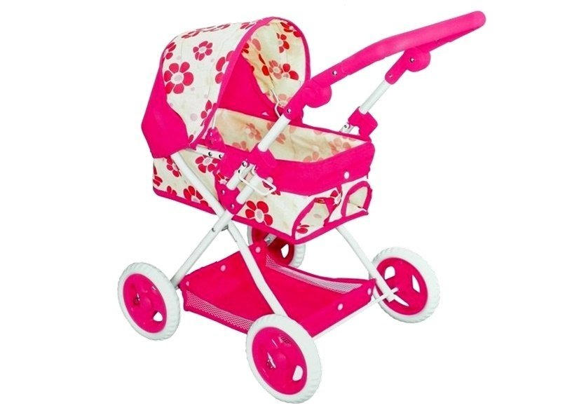 Poppen Accessoires - poppenwagen-lovely-baby-1